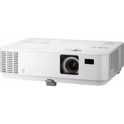 Проектор NEC NP-V302X (V302X)Проекторы NEC<br>NEC projector V302X DLP, 1024x768 XGA, 3000lm, 10000:1, mini D-Sub, HDMI, RCA, RJ-45, Lamp:6000hrs<br>