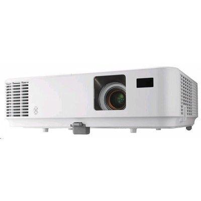 Проектор NEC NP-V332W (V332W)Проекторы NEC<br>NEC projector V332W DLP, 1280x800 WXGA, 3300lm, 10000:1, mini D-Sub, HDMI, RCA, RJ-45, Lamp:6000hrs<br>