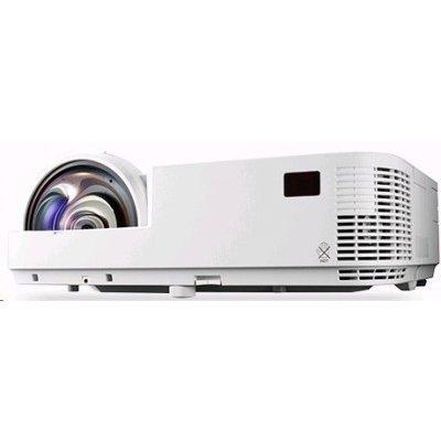 Проектор NEC NP-M333XS (M333XS)Проекторы NEC<br>NEC projector M333XS DLP, SHORT-THROW, 1024x768 XGA,3300lm, 10000:1, 3,7kg, D-Sub, HDMI, RCA, RJ-45, Lamp:8000hrs<br>