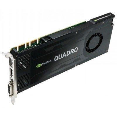 Видеокарта ПК PNY Technologies Quadro K4200 PCI-E 2.0 4096Mb 256 bit DVI (VCQK4200-PB)