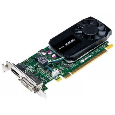 Видеокарта ПК PNY Technologies Quadro K620 PCI-E 2.0 2048Mb 128 bit DVI (VCQK620-PB)