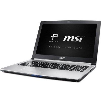 Ноутбук MSI PE70 6QE-062RU (9S7-179542-062)Ноутбуки MSI<br>i7-6700HQ 8Gb 1Tb nV GTX960M 2Gb 17,3 FHD DVD(DL) BT Cam 3834мАч Win10 Серебристый<br>