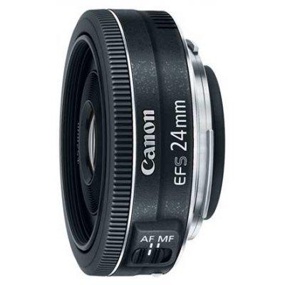 Объектив для фотоаппарата Canon EF-S 24 F2.8 USM (9522B005) объектив для фотоаппарата