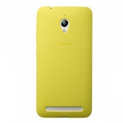 Чехол для смартфона ASUS для ZenFone GO ZC500TG PF-01 желтый (90XB00RA-BSL3Q0) (90XB00RA-BSL3Q0) motocross dirt bike enduro off road wheel rim spoke shrouds skins covers for yamaha yzf r6 2005 2006 2007 2008 2009 2010 2011 20