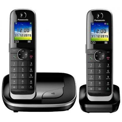 Радиотелефон Panasonic KX-TGJ312 (KX-TGJ312RUB) радиотелефон dect panasonic kx tg6722rub черный