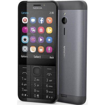 Мобильный телефон Nokia 230 серый (A00026973) мобильный телефон nokia 230 серый