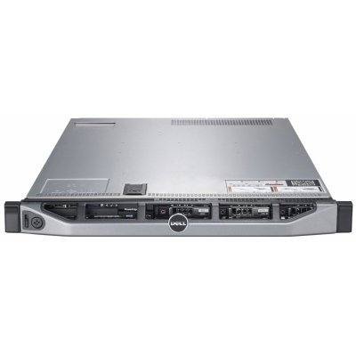 Сервер Dell PowerEdge R320 (210-ACCX-44) (210-ACCX-44)Серверы Dell<br>Сервер Dell PowerEdge R320 E5-2420v2 (2.2GHz) 6C, 8GB (1x8GB) 1600MHz RDIMM, no HDD (up to 8x2,5 HotPlug), PERC H710/512MB (RAID 0-6 0), DVD+/-RW, BCM5720 DP 1GbE, iDRAC7 Enterprise, PS (1)x 350W (up to RPS), Bezel, no Rails, 3Y NBD<br>