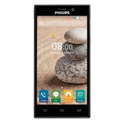 Смартфон Philips Xenium V787 (Xenium V787)Смартфоны Philips<br>смартфон, Android 5.1 поддержка двух SIM-карт экран 5, разрешение 1920x1080 камера 13 МП, автофокус память 16 Гб, слот для карты памяти 3G, 4G LTE, Wi-Fi, Bluetooth, GPS, ГЛОНАСС аккумулятор 5000 мАч вес 164 г, ШxВxТ 71.50x143.20x9.80 мм<br>