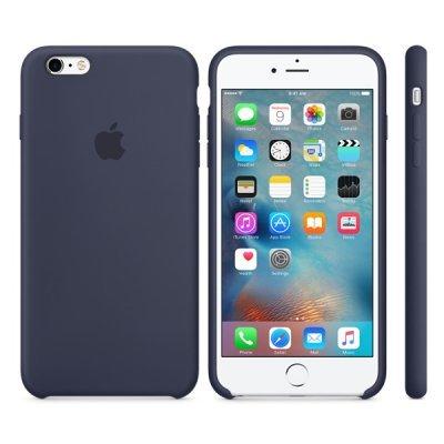 Чехол для смартфона Apple для iPhone 6S Plus MKXL2ZM/A темно-синий (MKXL2ZM/A) (MKXL2ZM/A) apple чехол клип кейс apple для apple iphone 6s plus mm692zm a светло зеленый