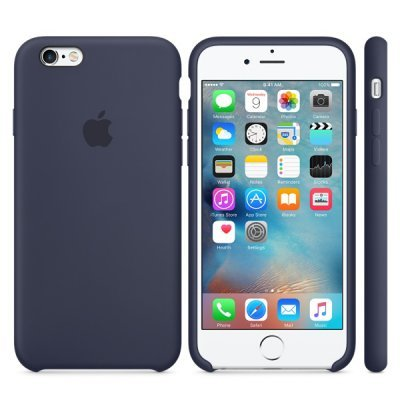 Чехол для смартфона Apple для iPhone 6S MKY22ZM/A темно-синий (MKY22ZM/A) клип кейс ibox fashion дизайн 102 для apple iphone 6 6s с рисунком