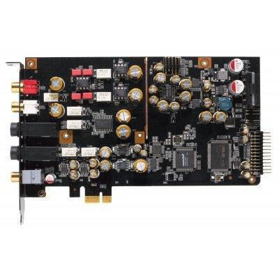 Звуковая карта внутренняя ASUS ESSENCE STX II 7.1 (ESSENCE STX II 7.1)Звуковые карты внутренние ASUS<br>Звуковая карта Asus PCI-E Essence STX II 7.1 (ASUS AV100, DAC TI Bur-Brown PCM1792A) 7.1 Ret<br>