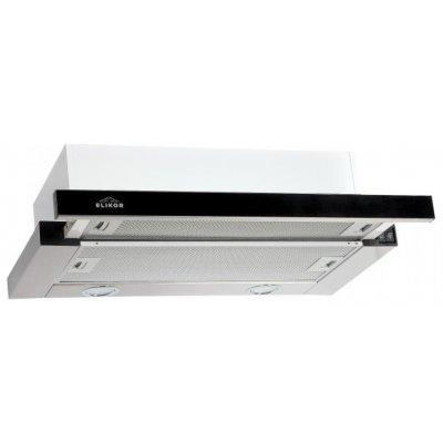 Вытяжка Elikor Интегра 50 нержавейка / черное стекло (КВ II М-400-50-252)Вытяжки Elikor<br>кухонная вытяжка<br>встраивается в навесной шкафчик<br>отвод / циркуляция<br>для стандартных кухонь<br>ширина для установки 50 см<br>мощность 200 Вт<br>механическое управление<br>тихий двигатель<br>