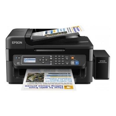 Цветной струйный МФУ Epson L566 (C11CE53403) принтер epson l312 струйный цвет черный [c11ce57403]