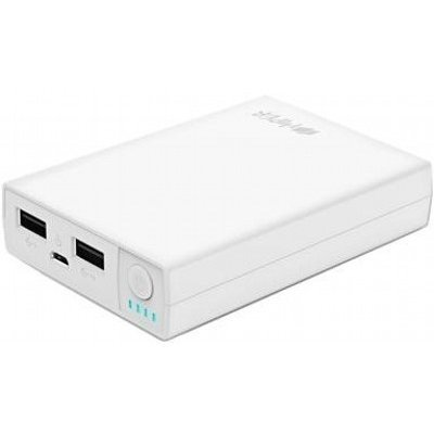 Внешний аккумулятор для портативных устройств HIPER RP7500 белый (RP7500 WHITE) внешний аккумулятор hiper rp7500 black