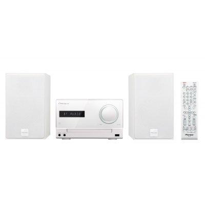 Аудио микросистема Pioneer X-CM35-W белый (X-CM35-W)