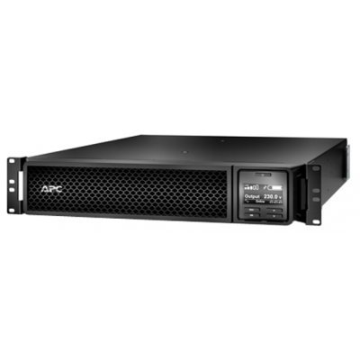 Источник бесперебойного питания APC Smart-UPS SRT 3000VA RM 230V (SRT3000RMXLI) источник бесперебойного питания с двойным преобразованием apc by schneider electric smart ups 2200va rm 2u lcd 230v black
