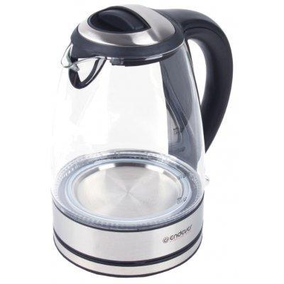 Электрический чайник Endever KR-316G (KR-316G)Электрические чайники Endever<br>чайник<br>объем 1.8 л<br>мощность 2400 Вт<br>закрытая спираль<br>установка на подставку в любом положении<br>корпус из пластика и стекла<br>индикация включения<br>подсветка корпуса<br>