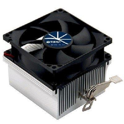 Кулер для процессора Titan DC-K8U825X (DC-K8U825X)Кулеры для процессоров Titan<br>Кулер TITAN DC-K8U825X до 89W, для AMD K8/AM2/AM2+/AM3/AM3+/FM1, 80x82x65, 3-PIN, 2000 RPM, &amp;lt;25 dBA<br>