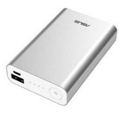 Внешний аккумулятор для портативных устройств ASUS ZenPower ABTU005 серебристый (90AC00P0-BBT027)Внешние аккумуляторы для портативных устройств ASUS<br>Мобильный аккумулятор Asus ZenPower ABTU005 Li-Ion 10050mAh 2.4A серебристый 1xUSB<br>