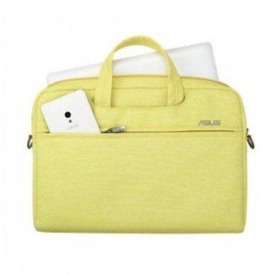 Сумка для ноутбука ASUS EOSSHOULDERBAG 12 желтый (90XB01D0-BBA020) (90XB01D0-BBA020) asus eosshoulderbag 12inch