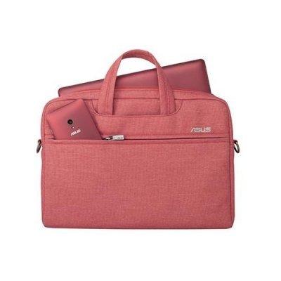 Сумка для ноутбука ASUS EOSSHOULDERBAG 12 красный (90XB01D0-BBA030) (90XB01D0-BBA030) asus eosshoulderbag 12inch