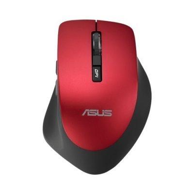 Мышь ASUS WT425 красный (90XB0280-BMU030)Мыши ASUS<br>Мышь Asus WT425 красный оптическая (1600dpi) беспроводная USB2.0 для ноутбука (5but)<br>