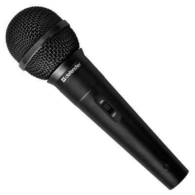 Микрофон Defender MIC-130 (64131) микрофон defender mic 142 64142