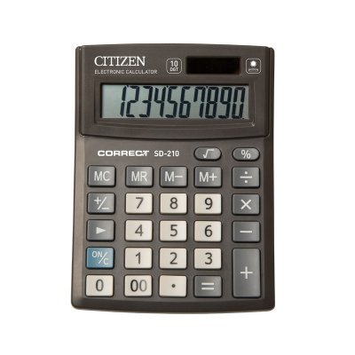 Калькулятор CiTiZeN SD-210 (SD-210)