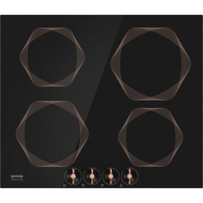 Электрическая варочная панель Gorenje IC6INB (IC6INB)Электрические варочные панели Gorenje<br>Индукционная варочная поверхность Gorenje Infinity IC6INB черный<br>