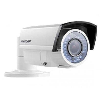 Камера видеонаблюдения Hikvision DS-2CE16C5T-VFIR3 (DS-2CE16C5T-VFIR3)Камеры видеонаблюдения Hikvision<br>TVI bullet-камера с ИК-подсветкой и механическим ИК-фильтром, 1/2.7 Progressive Scan CMOS, 50 к/с 720p, 0.001лк @(F1.2, AGC вкл.), 0лк с вкл ИК, Дальность ИК до 40 м, 12В DC, Smart ИК-подсветка, объектив 2.8-12mm , DWDR, угол обзора: 102° - 35°, 1 выход TurboHD, DNR, -40°~60°, IP66<br>