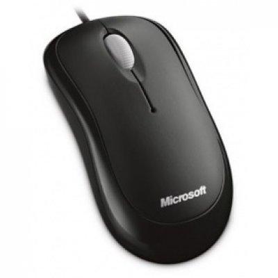 Мышь Microsoft Basic Optical Mouse Black USB (4YH-00007) microsoft arc touch mouse black usb