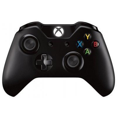 Геймпад для игровой приставки Microsoft Xbox One Wireless Controller черный (EX7-00007) (EX7-00007)