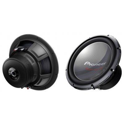 Сабвуфер автомобильный Pioneer TS-W3003D4 (TS-W3003D4)Сабвуферы автомобильные Pioneer<br>сабвуфер<br>типоразмер: 30 см (12 дюйм.)<br>номинальная мощность 600 Вт<br>максимальная мощность 2000 Вт<br>чувствительность 96 дБ (Вт/м)<br>импеданс 4 Ом<br>диапазон частот 20 - 80 Гц<br>