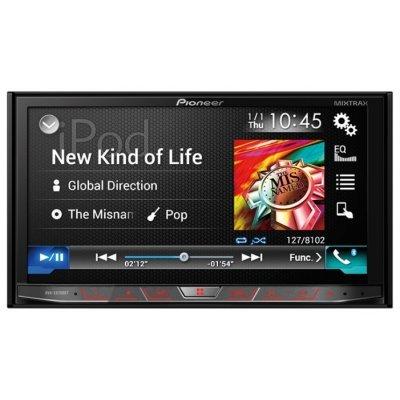 Автомагнитола Pioneer AVH-X8700BT (AVH-X8700BT)Автомагнитолы Pioneer<br>автомагнитола 2 DIN<br>DVD-проигрыватель<br>сенсорный дисплей 7<br>ТВ-тюнер<br>макс. мощность 4 x 50 Вт<br>воспроизведение с USB и iPod<br>радиоприемник с RDS<br>поддержка карт памяти SD<br>