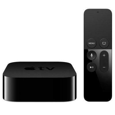 Медиаплеер Apple TV 64GB 2015 (MLNC2RS/A) (MLNC2RS/A)Медиаплееры Apple<br>медиаплеер без жесткого диска<br>поддержка 1080p (Full HD)<br>интерфейс HDMI 1.4<br>операционная система tvOS<br>подключение к сети по Wi-Fi и Ethernet<br>