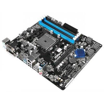 Материнская плата ПК ASRock FM2A88M PRO3+ (FM2A88M PRO3+)Материнские платы ПК ASRock<br>Мат. плата ASRock FM2A88M PRO3+ &amp;lt;SFM2+, AMD A88X, 4*DDR3, 1*PCI-E16x, 2*PCI-E1x,  SATA, GB Lan, mATX, Retail&amp;gt;<br>
