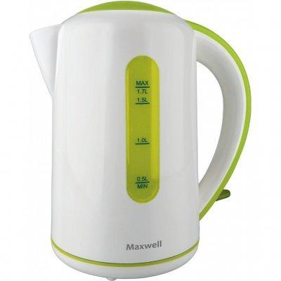 Электрический чайник Maxwell MW-1028 (G) (MW-1028 (G))Электрические чайники Maxwell<br>чайник<br>объем 1.7 л<br>мощность 2200 Вт<br>закрытая спираль<br>установка на подставку в любом положении<br>пластиковый корпус<br>