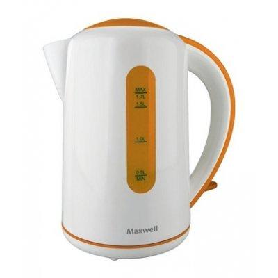 Электрический чайник Maxwell MW-1028 (OG) (MW-1028 (OG))Электрические чайники Maxwell<br>чайник<br>объем 1.7 л<br>мощность 2200 Вт<br>закрытая спираль<br>установка на подставку в любом положении<br>пластиковый корпус<br>
