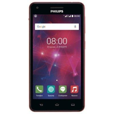 Смартфон Philips Xenium V377 (Xenium V377)Смартфоны Philips<br>5-дюймовый HD-дисплей с IPS-матрицей, камеры 5 и 2 Мп, аккумулятор 5 000 мАч<br>
