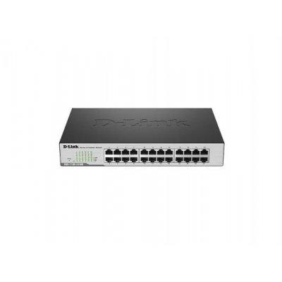 Коммутатор D-Link DGS-1100-24/B1A (DGS-1100-24/B1A)Коммутаторы D-Link<br>D-Link DGS-1100-24/B1A, 24-port 10/100/1000Base-T Smart Switch<br>
