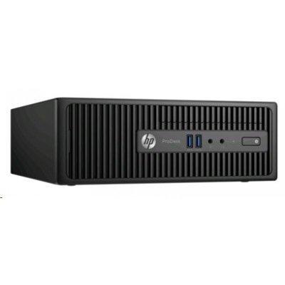 Настольный ПК HP 400 G3 ProDesk SFF (T4R69EA) (T4R69EA)Настольные ПК HP<br>Core i3-6100,4GB DDR4-2133 DIMM (1x4GB),500GB 7200 RPM,SuperMulti DVDRW,USBkbd,USBmouse,Win10Pro+Win7Pro(64-bit),1-1-1 Wty (repl.M3X16EA)<br>