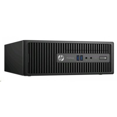 Настольный ПК HP 400 G3 ProDesk SFF (T4R74EA) (T4R74EA)Настольные ПК HP<br>Pentium G4400,4GB DDR4-2133 DIMM (1x4GB),500GB 7200 RPM,SuperMulti DVDRW,USBkbd,USBmouse,Win10Pro+Win7Pro(64-bit),1-1-1 Wty (repl.L3E81EA)<br>
