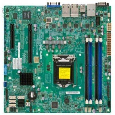Материнская плата сервера SuperMicro C224 S1150 MATX MBD-X10SLM+-F-O (MBD-X10SLM+-F-O) материнская плата asus h81m r c si h81 socket 1150 2xddr3 2xsata3 1xpci e16x 2xusb3 0 d sub dvi vga glan matx