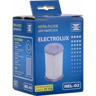 Фильтр для пылесоса Neolux HEL 02 (NEOLUX HEL 02)Фильтры для пылесоса Neolux<br>HEL 02 НЕРА-фильтр д/пыл.Electrolux (ориг.код EF 75B) NEOLUX<br>