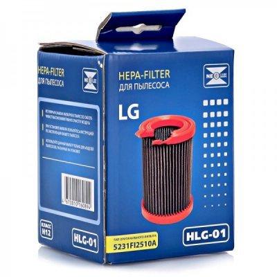 Фильтр для пылесоса Neolux HLG 01 (NEOLUX HLG 01)Фильтры для пылесоса Neolux<br>HLG 01 НЕРА-фильтр д/пыл.LG (ориг.код 5231FI2510A) NEOLUX<br>