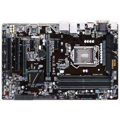 Материнская плата ПК Gigabyte GA-Z170-HD3 (GA-Z170-HD3)Материнские платы ПК Gigabyte<br>Материнская плата Gigabyte GA-Z170-HD3 Soc-1151 Intel Z170 4xDDR4 ATX AC`97 8ch(7.1) GbLAN RAID RAID1 RAID5 RAID10+VGA+DVI+HDMI<br>