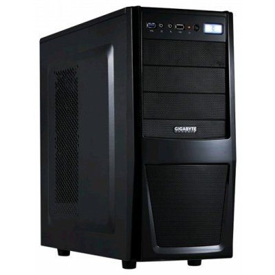 Корпус системного блока Gigabyte IF 233 w/o PSU Black (GZ-ZIF238R) корпус nzxt phantom 630 черный w o psu atx 2xusb2 0 2xusb3 0 audio cardreader front door bott psu
