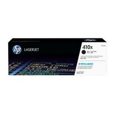 Тонер-картридж для лазерных аппаратов HP 410X CF410X черный для LJ Pro M452/M477 (6500стр.) (CF410X)Тонер-картриджи для лазерных аппаратов HP<br>Тонер Картридж HP 410X CF410X черный для HP LJ Pro M452/M477 (6500стр.)<br>