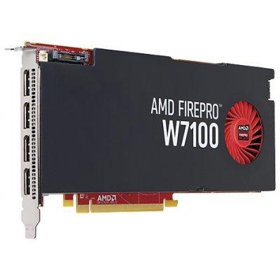 Профессиональный видеоускоритель HP FirePro W7100 PCI-E 3.0 8192Mb 256 bit (J3G93AA)Профессиональные видеоускорители HP<br>Видеокарта HP PCI-E J3G93AA AMD FirePro W7100 8192Mb 256bit DDR3/DPx4 Ret<br>