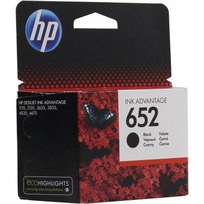 Картридж HP 652 черный для HP DJ IA 1115/2135/3635/4535/3835/4675 (360стр.) (F6V25AE)Картриджи для струйных аппаратов HP<br>черный для HP DJ IA 1115/2135/3635/4535/3835/4675 (360стр.)<br>